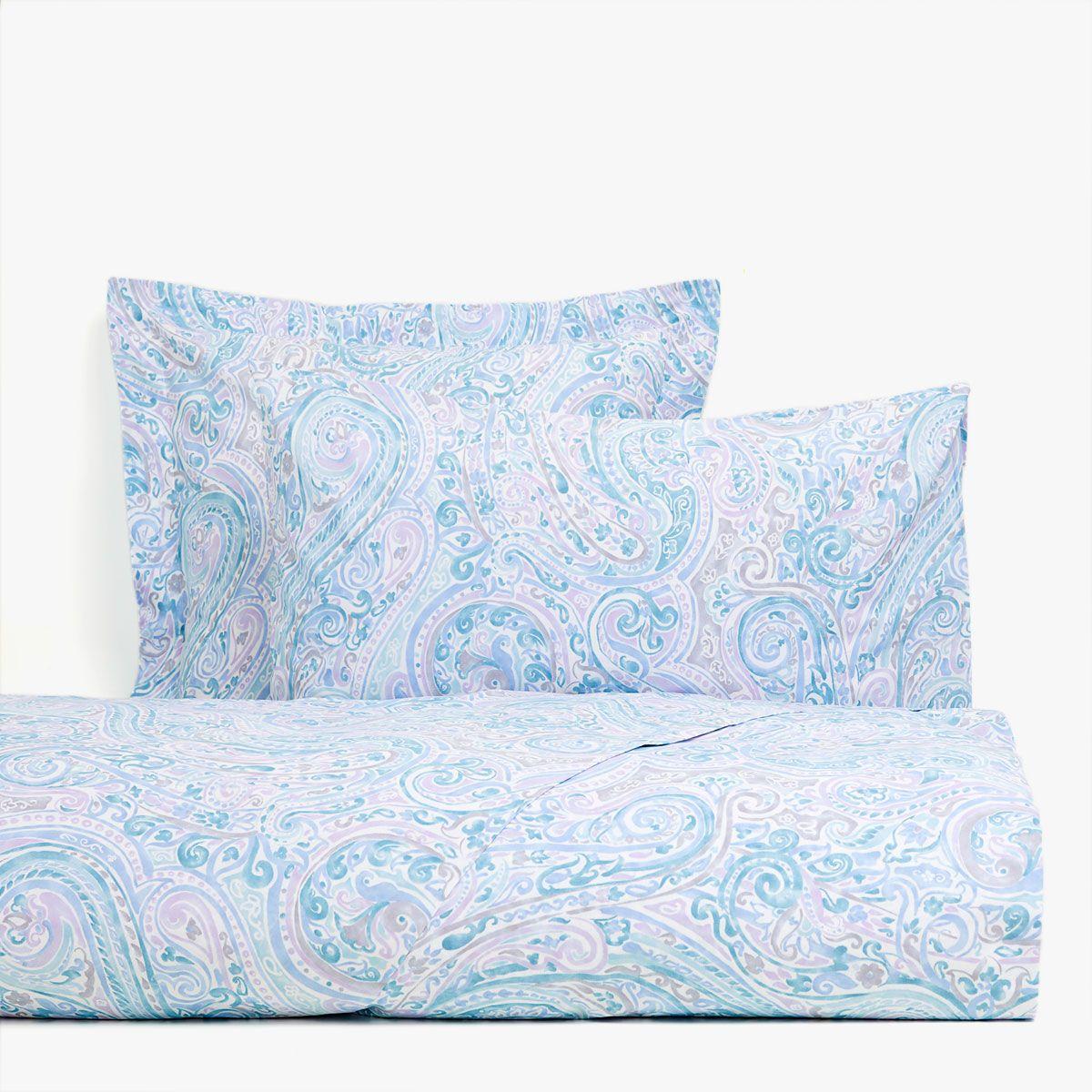Imagen 1 del producto Funda nórdica estampado paisley tonos lilas