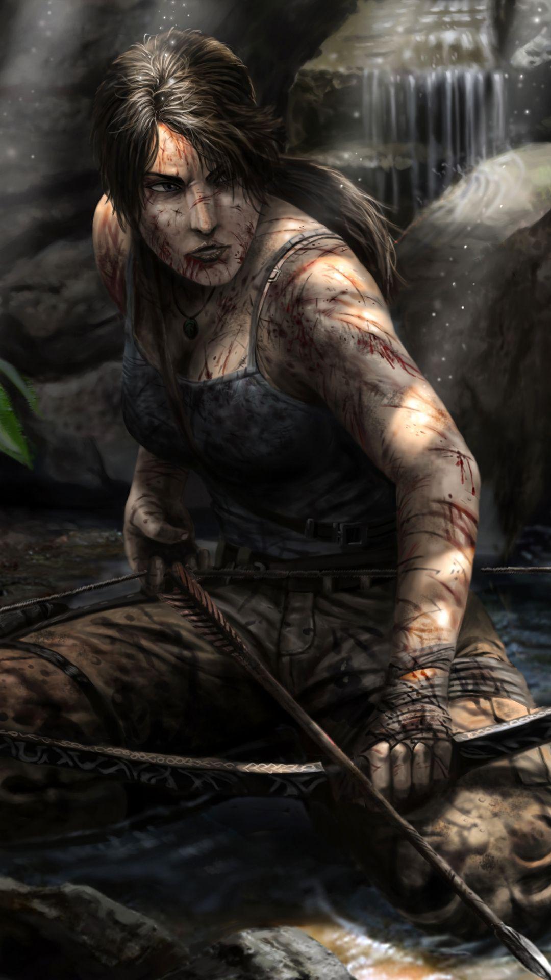 Archer Lara Croft Video Game Artwork Wallpaper Lara Croft Tomb Raider Tomb Raider Lara Croft