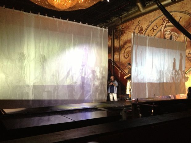 Wide Screen Rear Projection Screen For Under 20 Rear Projection