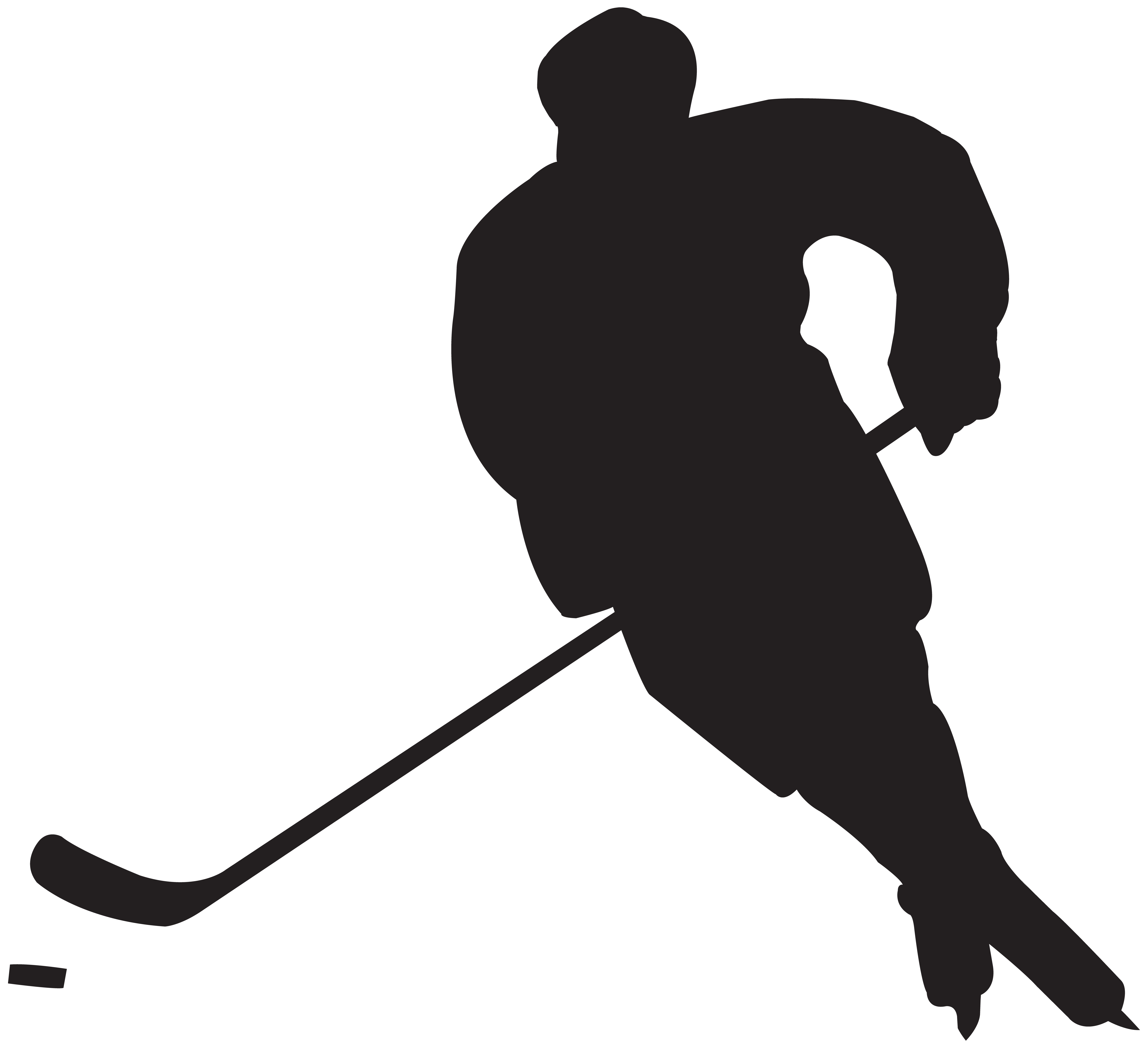 Hockey Player Silhouette Png Clip Art Gallery Yopriceville High Quality Images And Transparent Png Free Silhouette Clip Art Hockey Players Silhouette Png