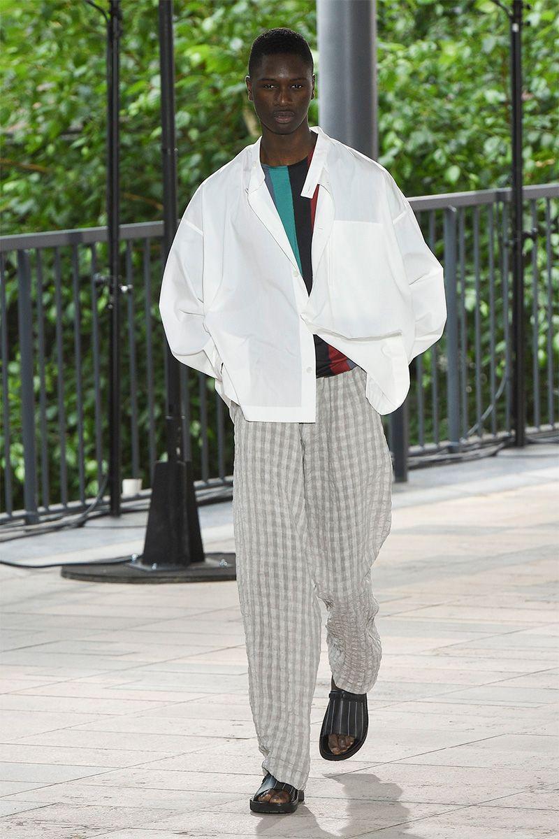 Issey Miyake Spring/Summer 2019   MEN   Stylish mens fashion