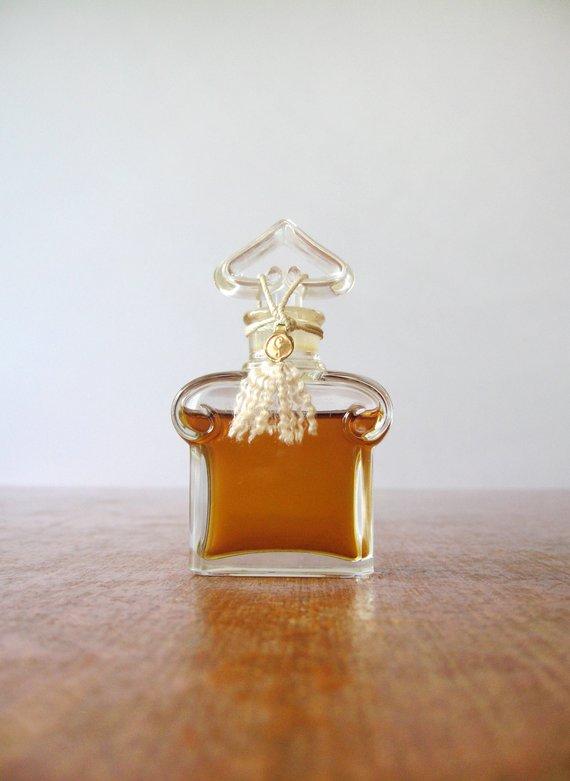 Perfume Sealed 1950's Flacon Coeur Bouchon Vintage Guerlain Parfum UMjqzVpGLS