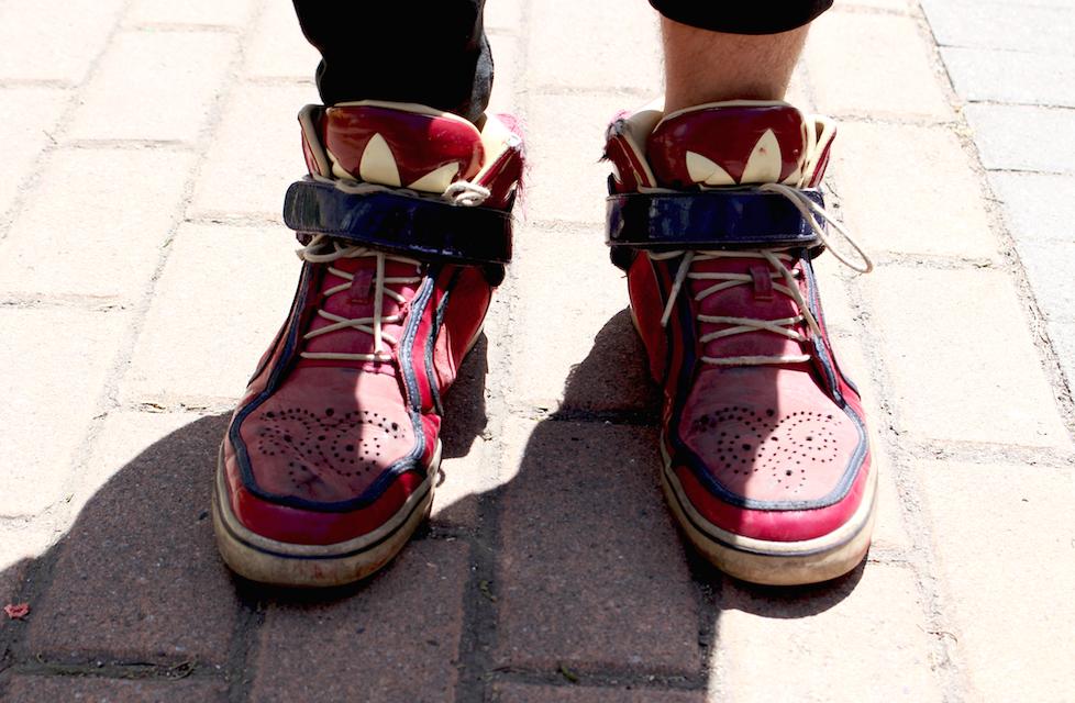 zapatos adidas quito trabajo