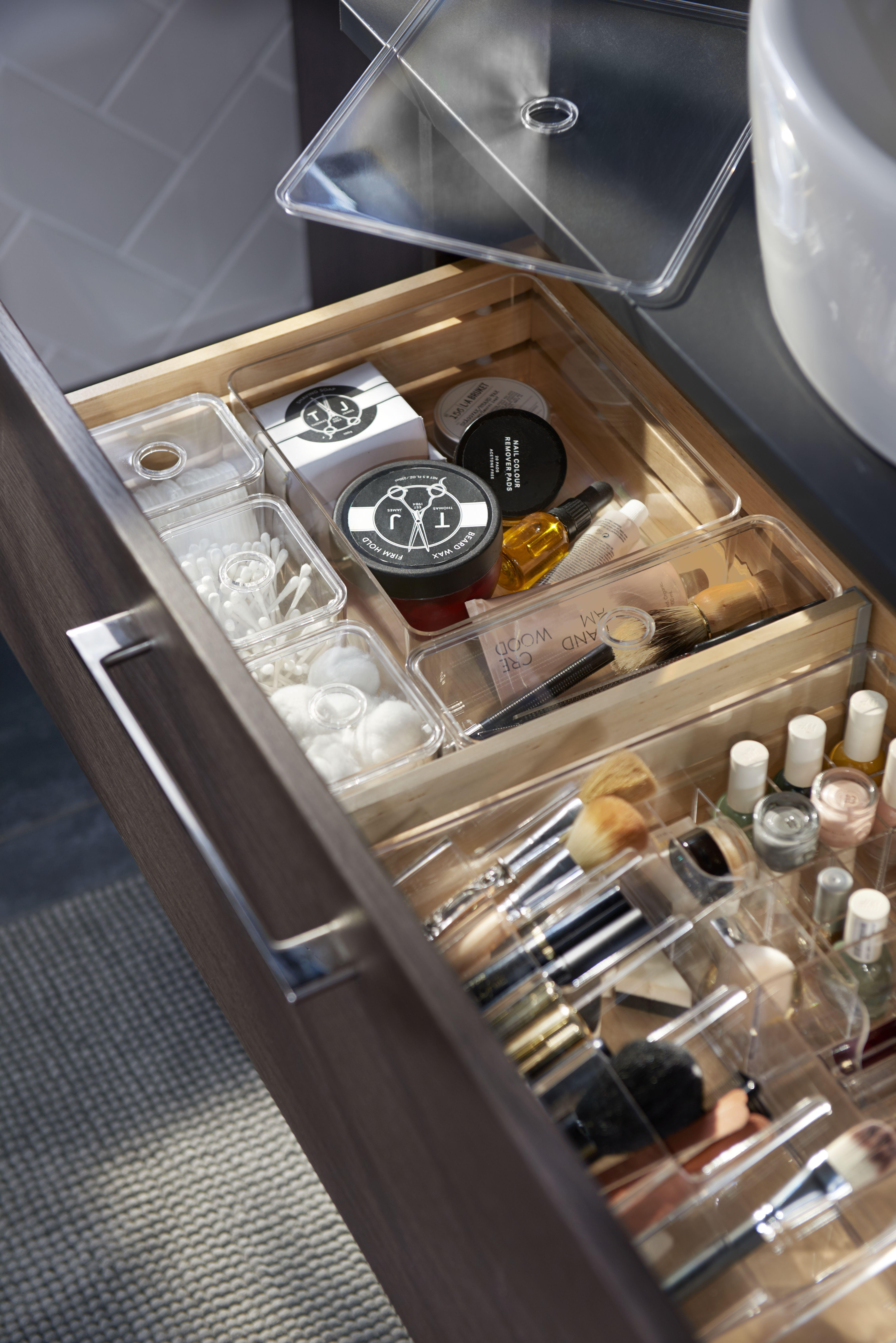 Godmorgon Kasten Mit Fachern Rauchfarben Ikea Deutschland Badezimmer Badezimmer Aufbewahrung Badezimmer Dekor