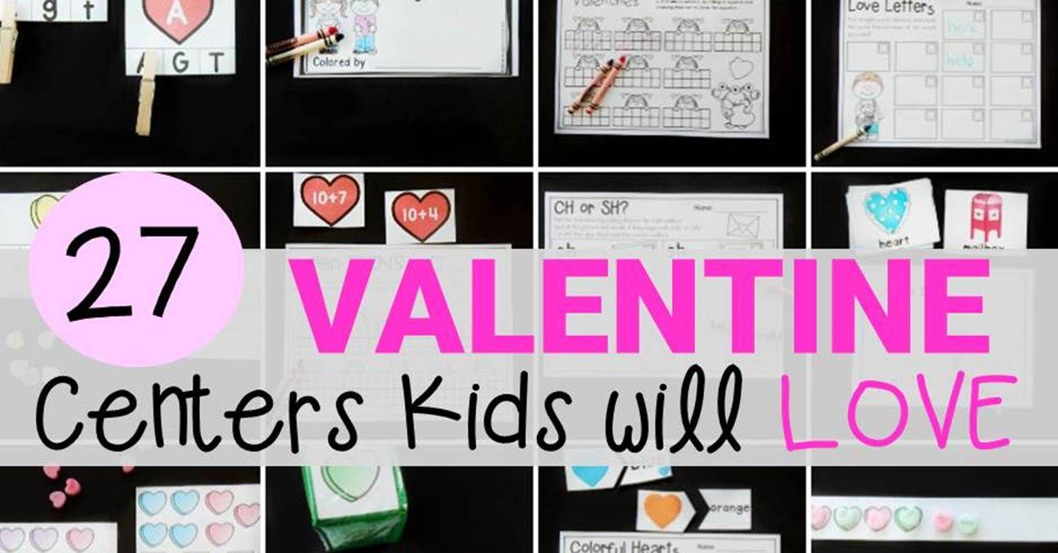 27 Valentine S Day Centers Kids Will Love