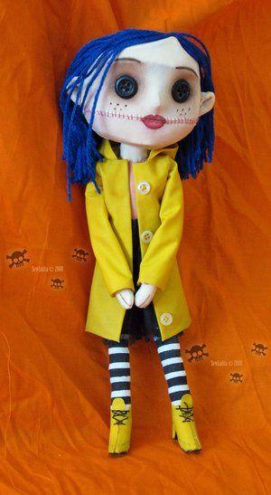 Sewlolita Coraline Doll By Creepy Craft On Deviantart Coraline Doll Matryoshka Doll Pattern Diy Doll Pattern