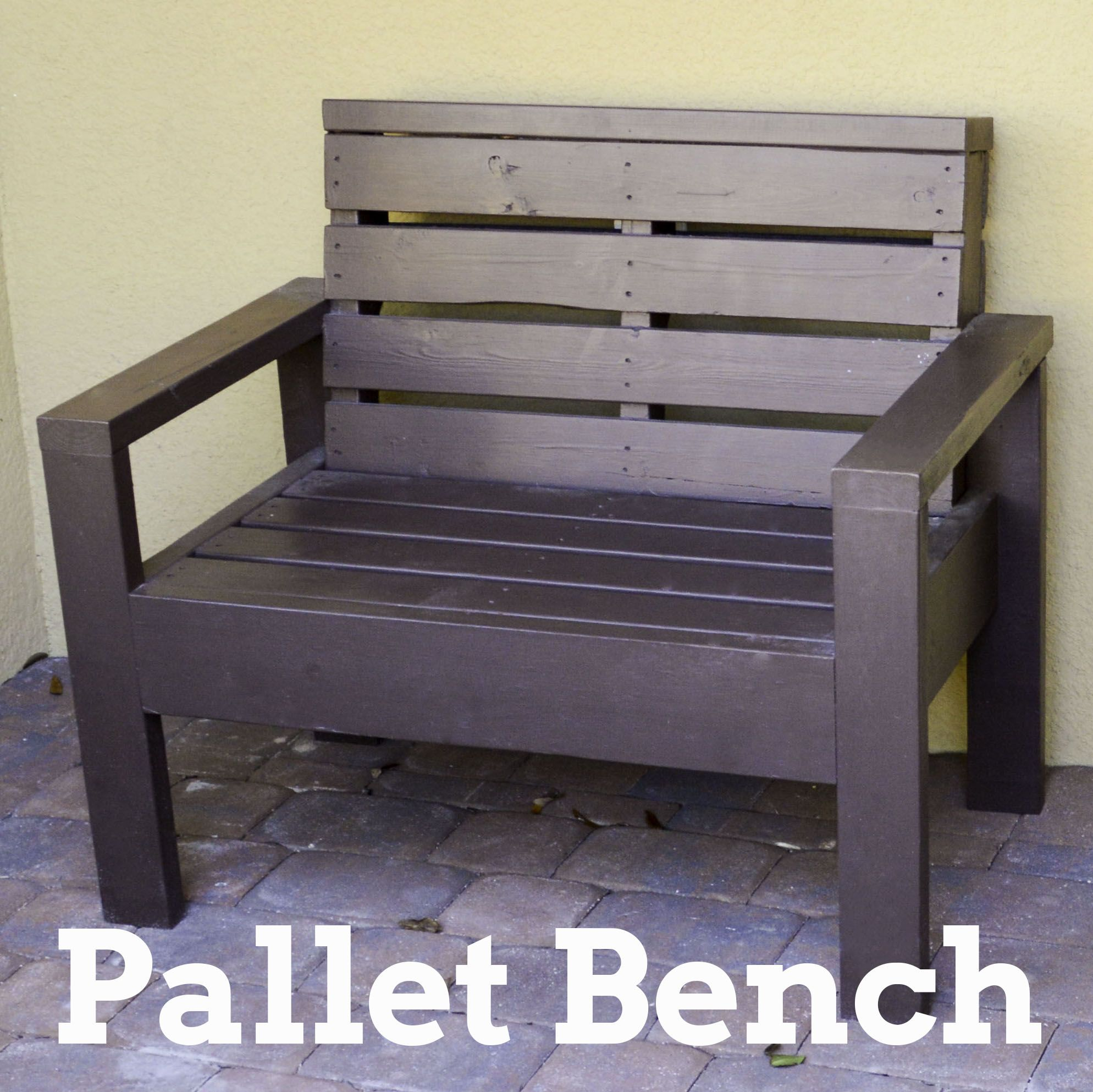 Diy Muebles Diy Pallet Bench My Diy Projects Pinterest Muebles