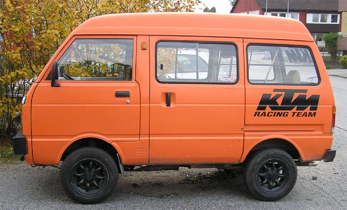 Daihatsu hijet sverige