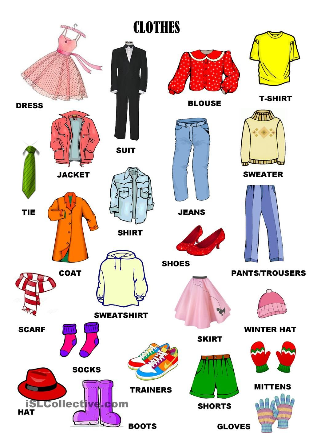 Clothes, accesories and details *7pages* (With images
