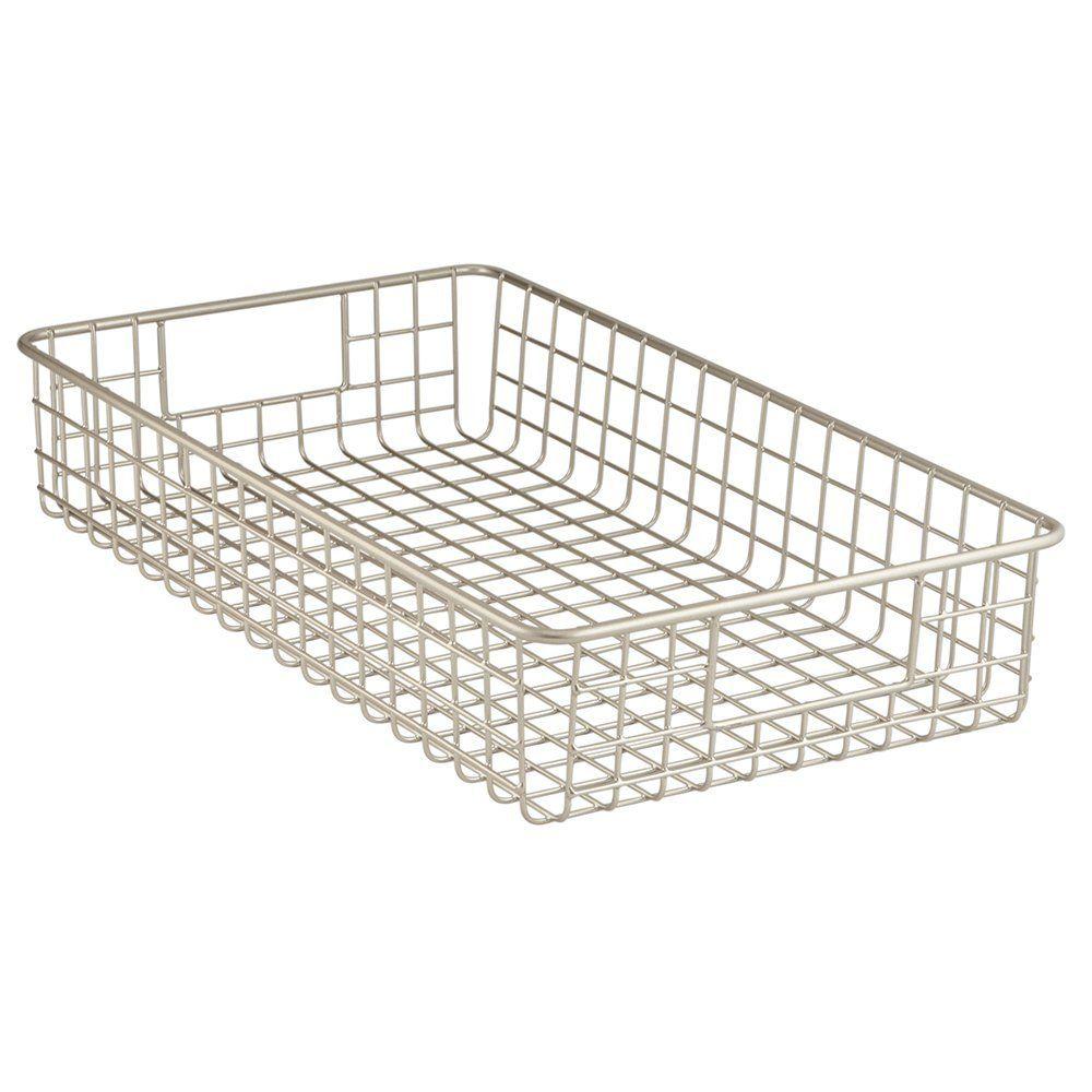 da3ca23697227 Amazon.com  InterDesign Classico Kitchen Pantry Freezer Wire Basket  Organizer