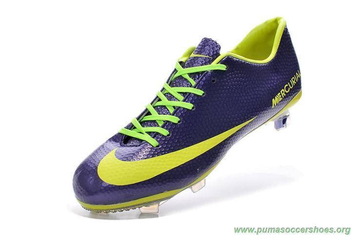 Mens purple volt fg nike mercurial vapor x indoor soccer
