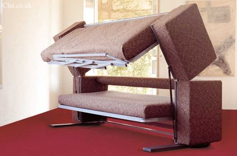 This Is A Sofa That Converts To A Bunk Bed   Perfect For Guests!
