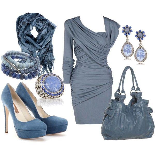 Farbkombinationen Blau Grau: Outfit Kombinationen, Sommertyp Und