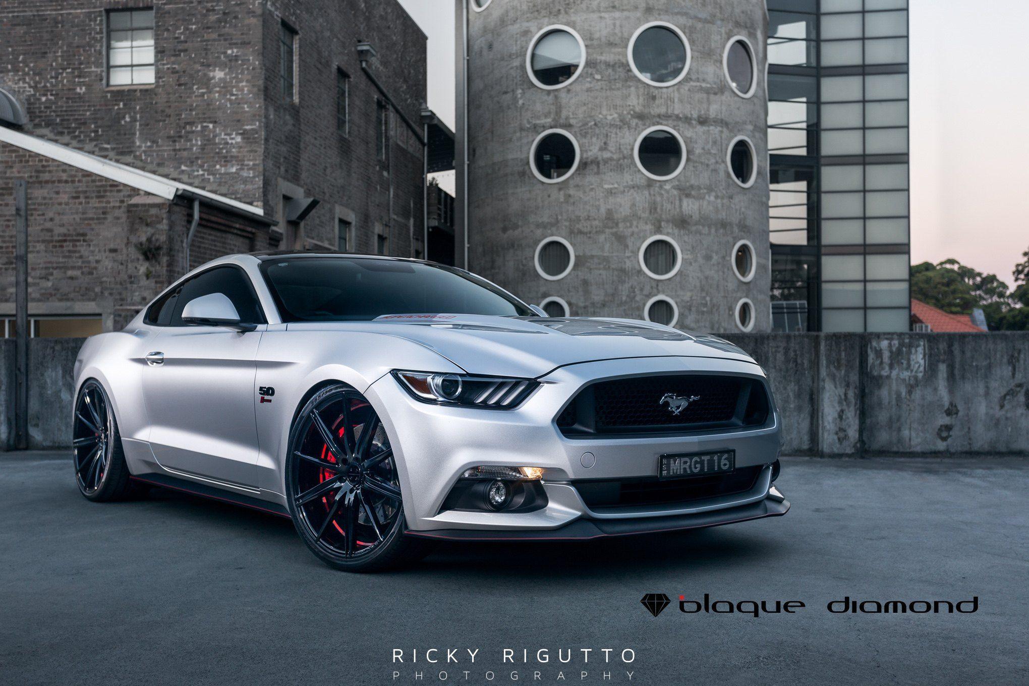 2015 Mustang Custom Wheels >> Shady Beauty On Black Diamond Custom Wheels Custom Wheels