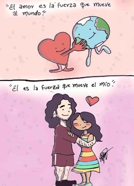 Amar Es Caricaturas Buscar Con Google Love My Family Comics I Work Hard