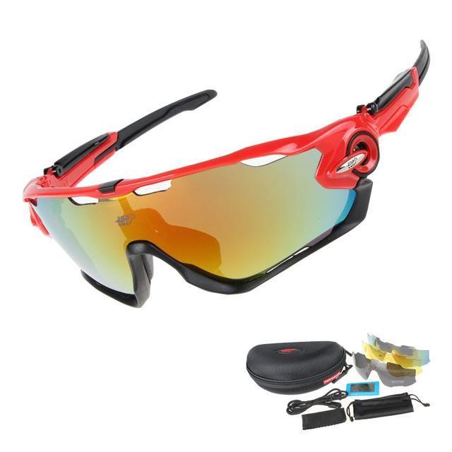 ceebc38298 COMAXSUN Professional Polarized Cycling Glasses Bike Goggles Driving Fishing  Outdoor Sports Sunglasses UV 400 3 Lens 6 color