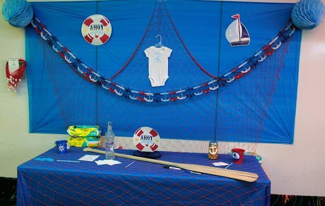 Ahoy Its A Boy Nautical Baby Shower Orientaltrading Simple