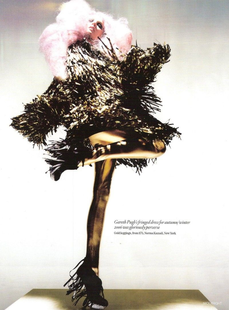 2006 - Lily Donaldson in Gareth Pugh by N.Knight 4 Vogue
