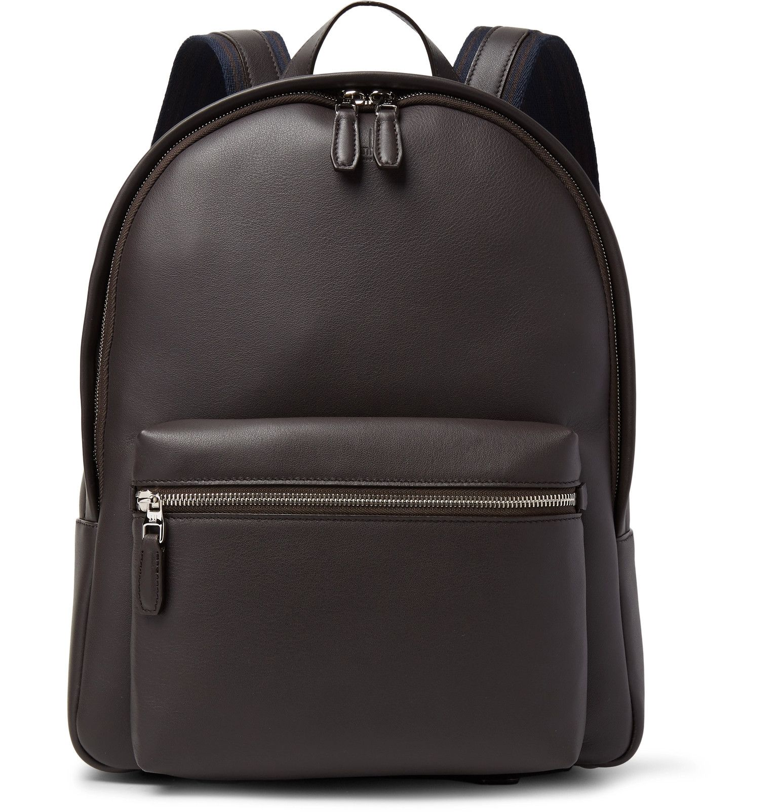 Dunhill - Hampstead Full-Grain Leather Backpack | backpacks ...