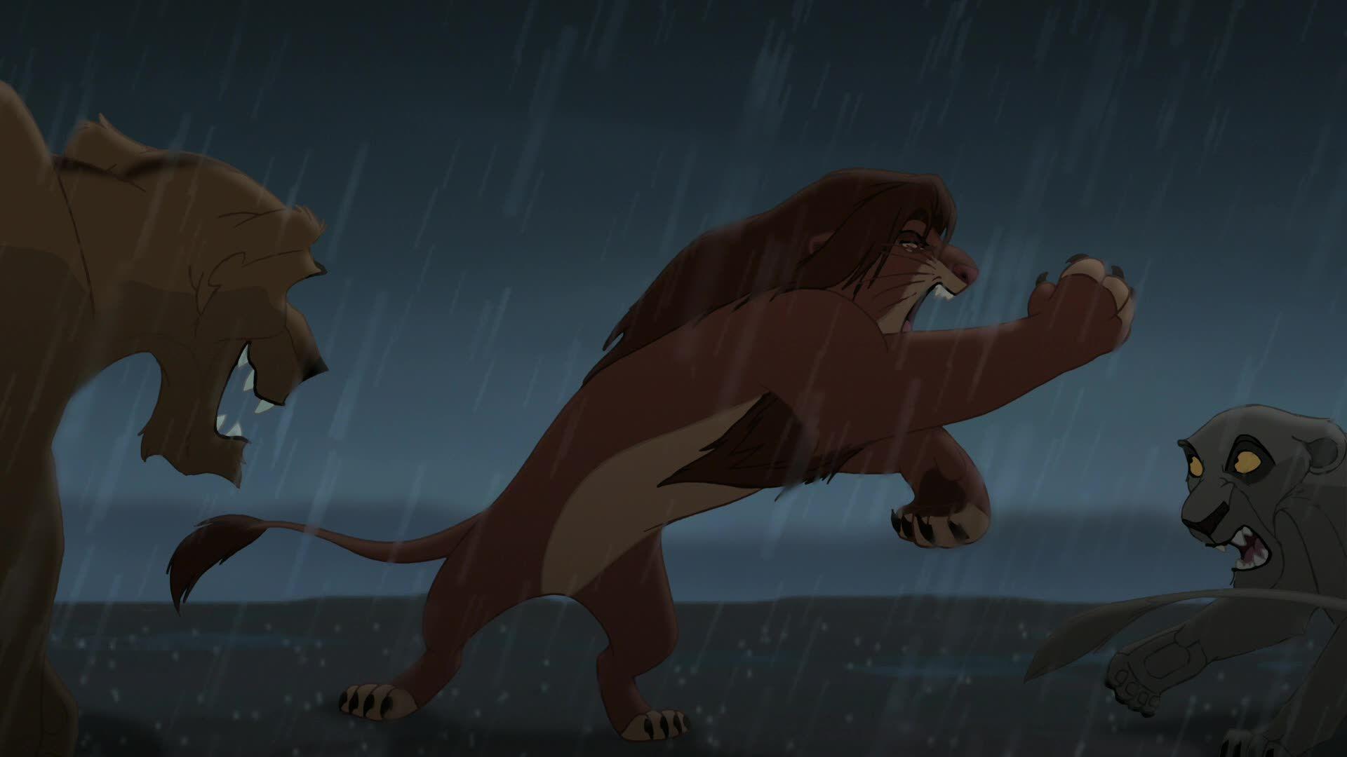 Simba Vs Outsiders Lion King Movie Lion King The Lion King 1994