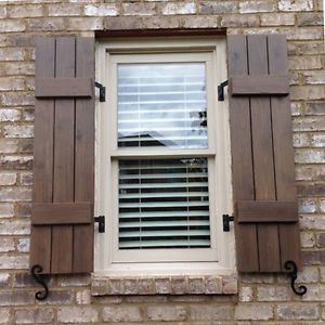 Shutter Hardware Hinges And Pintels Brick Mount 4 Shutter Dogs S Hooks 2 Ebay House Shutters Shutters Exterior Window Shutters Exterior