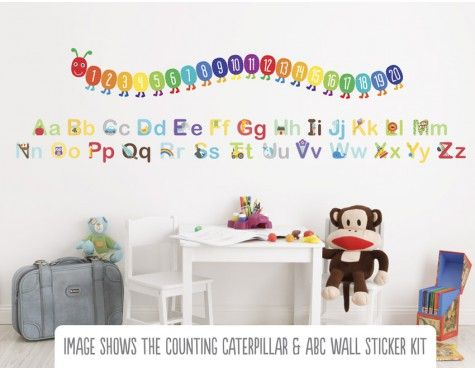 Superieur Alphabet Wall Stickers   Buy ABC Wall Stickers