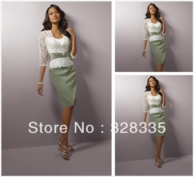 mint green mother of the bride dresses - New Arrival Satin Mint ...