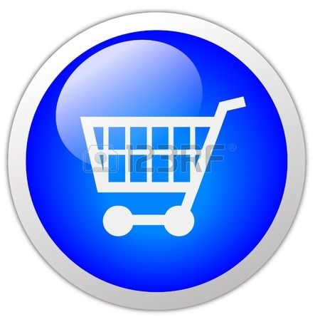 Boton De Icono Del Carrito De Compras Carritos De Supermercado Compras Carros De Compras