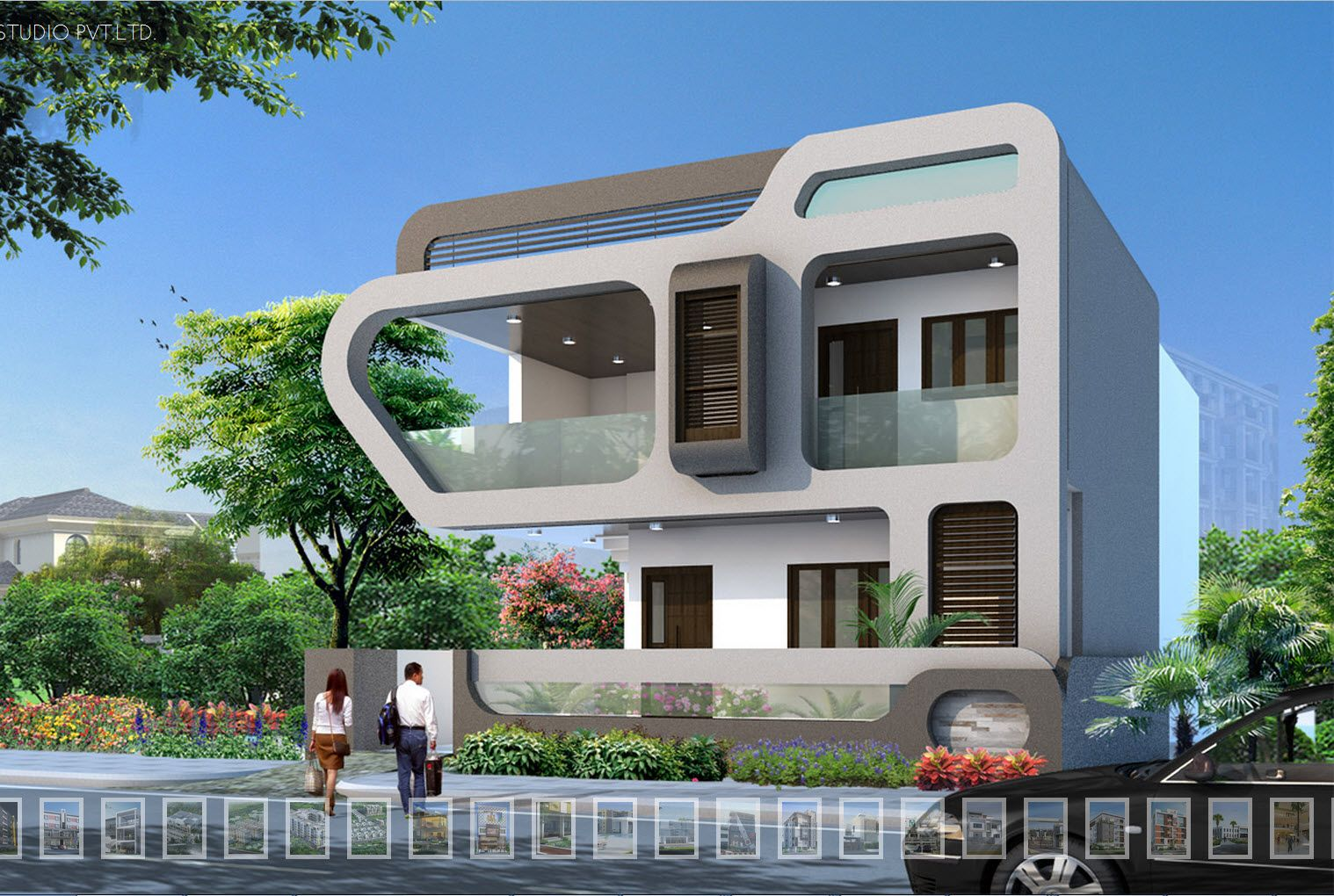 Pin By M Farhan On Modern House House Architecture Design Facade House House Design
