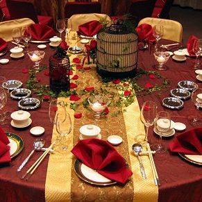 Red And Gold Wedding Ideas For Brides Grooms Parents