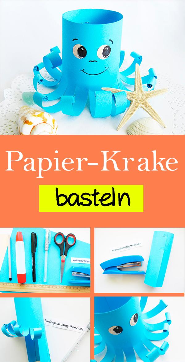 Photo of Anleitung: wie man ein Papier-Krake selber basteln kann