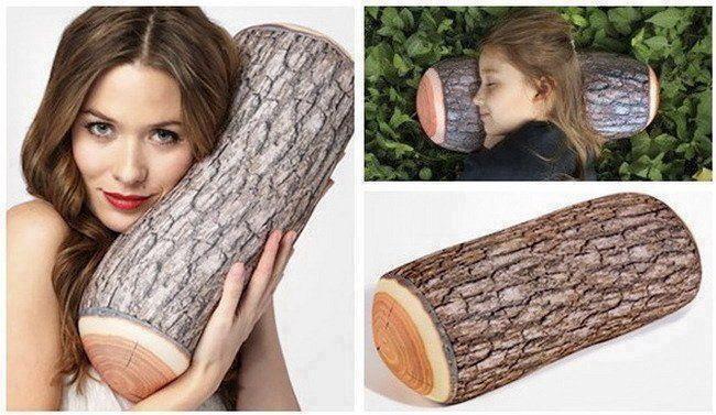 Comfy Log Pillow