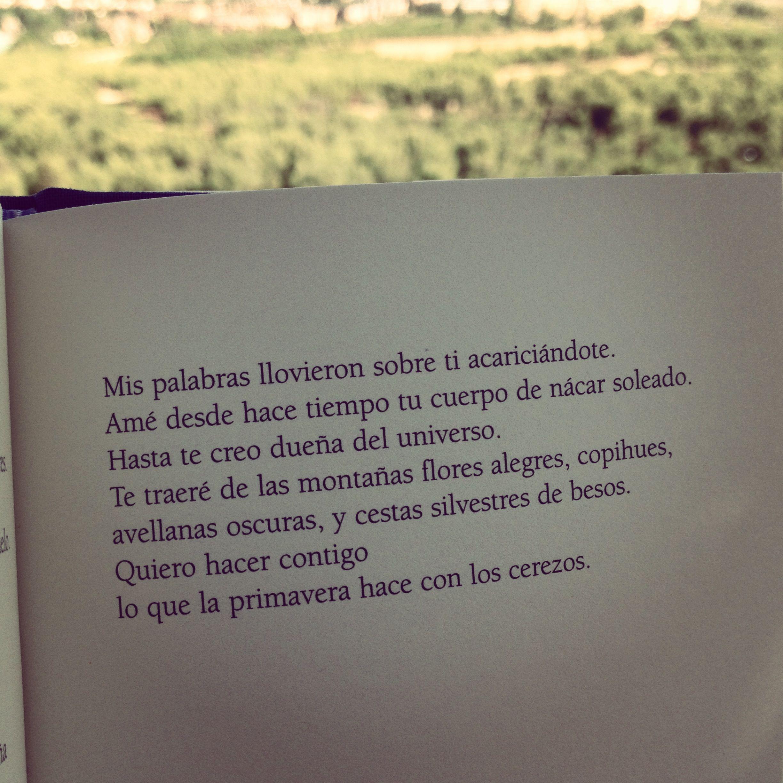 Pin De Dani Spier Em Poesía Eres Tú Frases Palavras Pablo Neruda