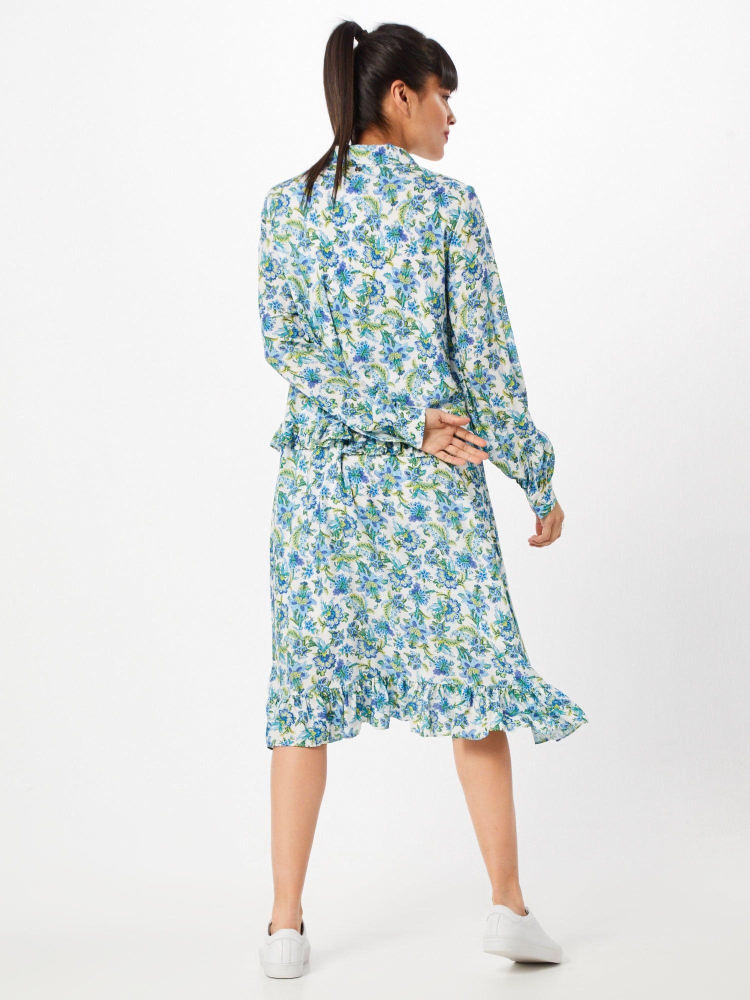 Rich Royal Kleid Damen Mischfarben Weiss Grosse 36 Kleider Langarmelige Kleider Kleid Mit Armel