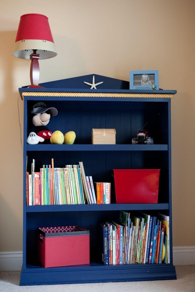 Custom Made Nautical Themed Bookshelf Nautical Theme Room