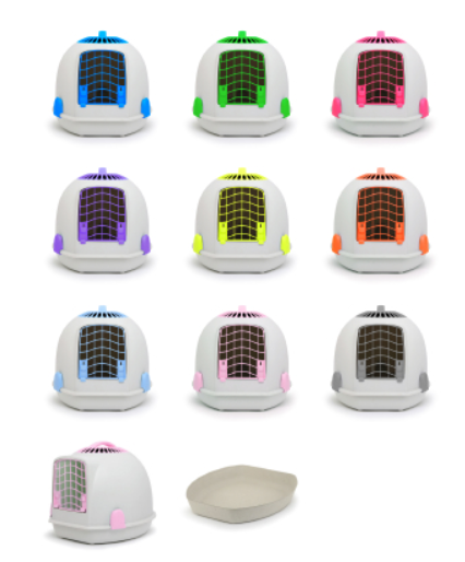 The Unique Igloo 2in1 Cat Loo and Carrier Carriers