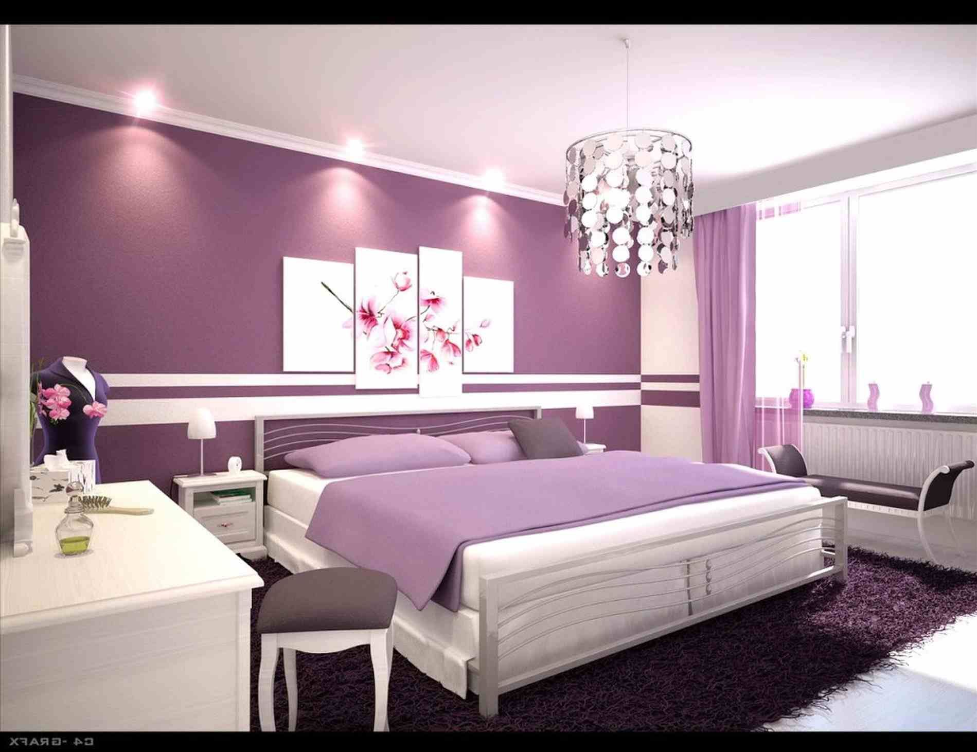 pink romantic bedroom designs | For Home | Purple bedrooms, Purple ...