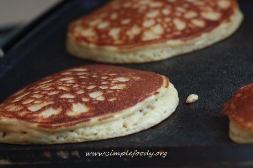 Coconut Almond Pancakes - yum! These are my go-to #glutenfree , #grainfree pancakes. I make a double batch and freeze them for quick breakfasts during the week. I also have paired them with Justin's almond butter packets on a #backpacking trip.
