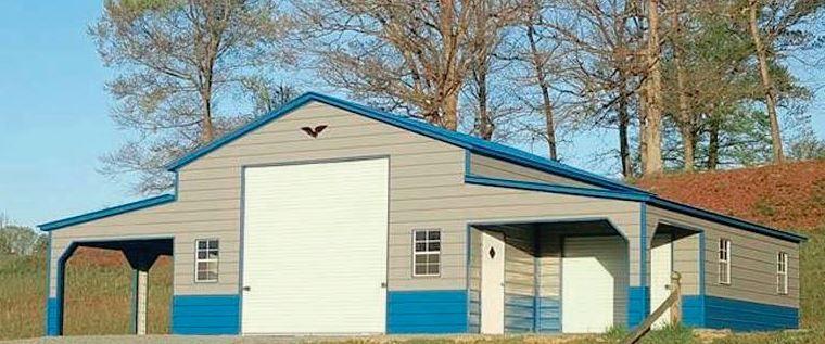 Eagle Carports Horse Barn as a Garage Eagle carports
