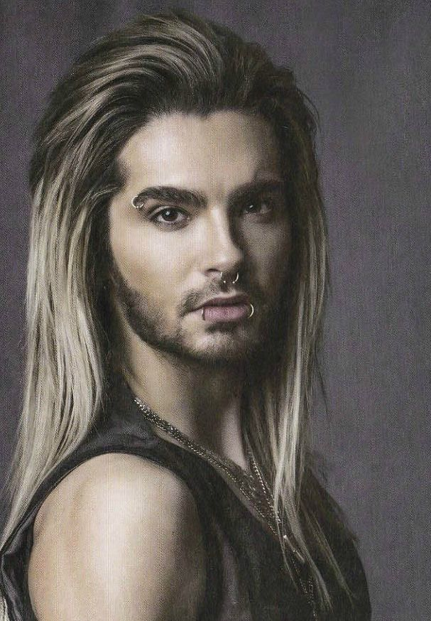 BILL KAULITZ...that moment when a guy is prettier than yourself.