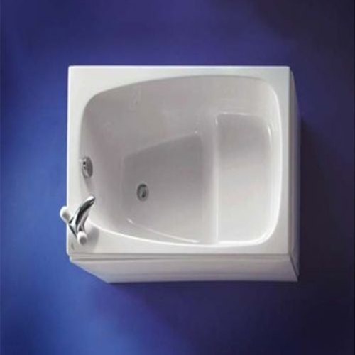 Small Bath x x great for a tiny home. Similar to Four Lights Oforo or a  Japanese oforo soaking tub.
