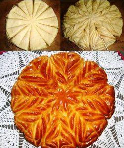 Тесто на пироги цуркан