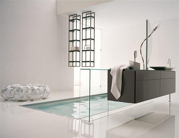 Moderne innenarchitektur badezimmer  Badezimmer Elegant Innenarchitektur - Original Dekor Stil ...