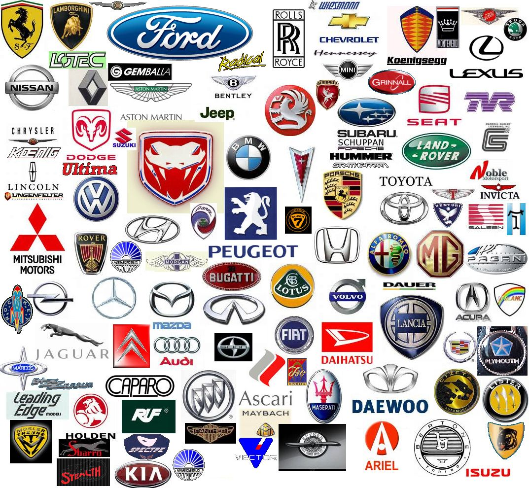 Cuz Everyone Should Know What Kind Of Car They Have Seen Just In Case They Get Thrown In The Back Of Someones T All Car Logos Car Brands Logos Luxury Car