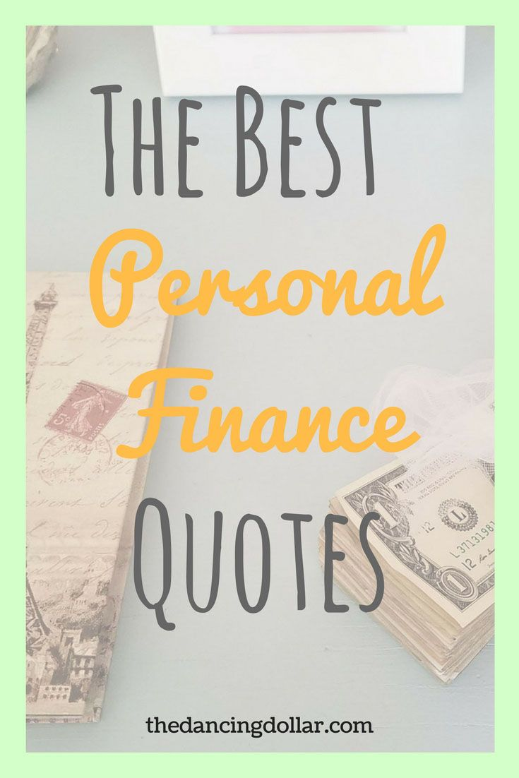 Finance Quotes Tdd's Favorite Money Quotes  Money Quotes Personal Finance And
