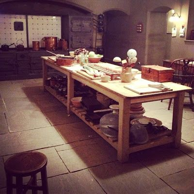 Downtonabbeykitchen  Downton Abbey Addicts Downton Abbey Fair Downton Abbey Kitchen Design Design Inspiration