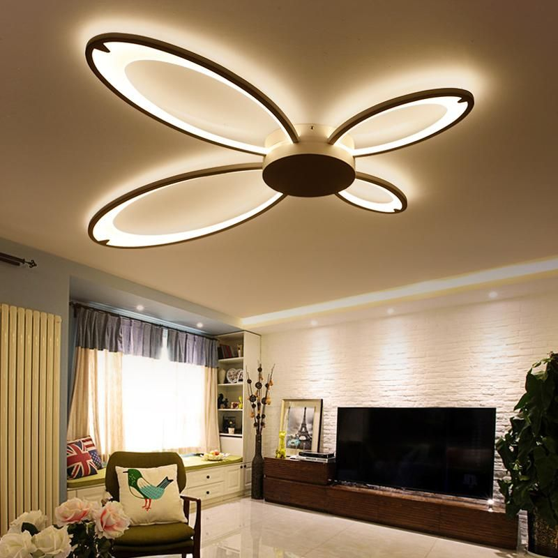 Ceiling Lights Square Led Ceiling Lights Living Room Bedroom Remote Control Lamparas De Techo Moderna Gold Coffee Frame Home Fixtures Ceiling Lights & Fans