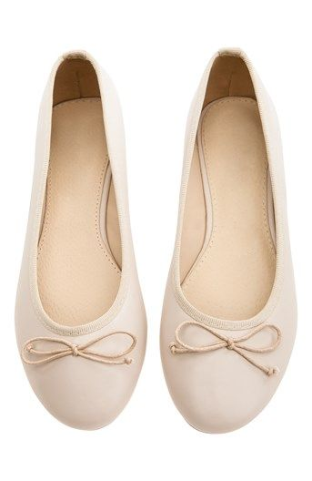 Cool Have2have Ballerinasko Beige Have2have Sko til Outlet i fantastisk kvalitet
