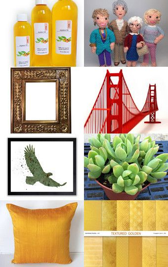 Golden trends by Erika Galaz on Etsy--Pinned with TreasuryPin.com