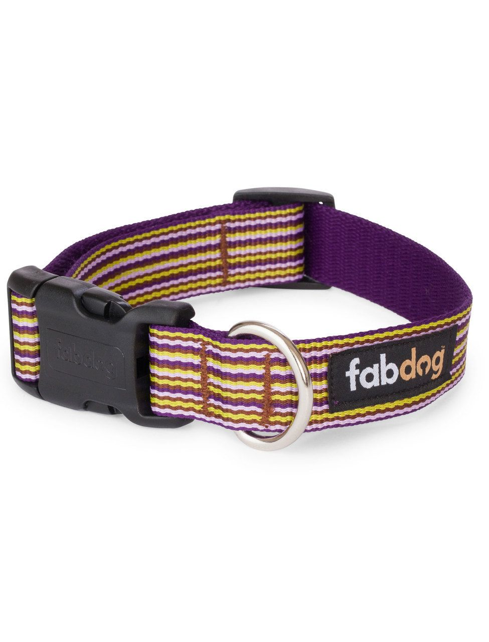Shop where every purchase helps shelter pets! Fab Dog Purple Mini Stripe Collar - from $19.99